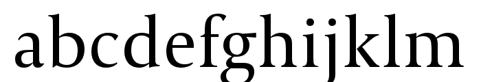 CapitoliumNews 2 Regular Font LOWERCASE