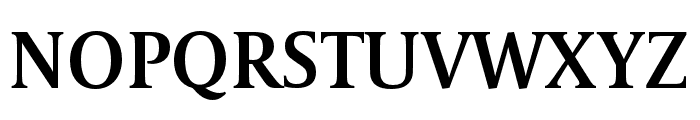 CapitoliumNews 2 SemiBold Font UPPERCASE