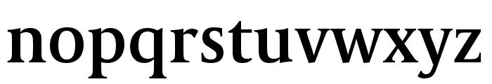 CapitoliumNews 2 SemiBold Font LOWERCASE