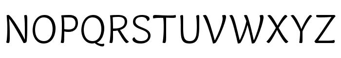 Capucine Basic Light Font UPPERCASE