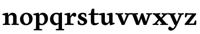 Cardea OT Bold Lining Font LOWERCASE