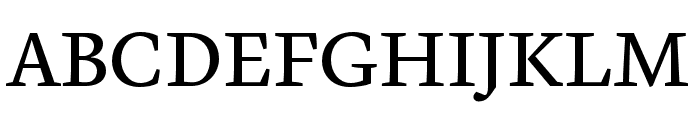 Cardea OT Reg Lining Font UPPERCASE