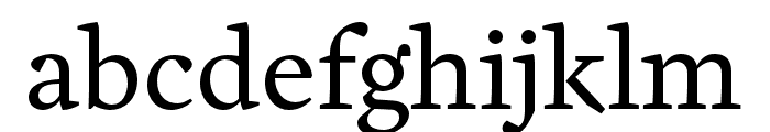 Cardea OT Reg Lining Font LOWERCASE