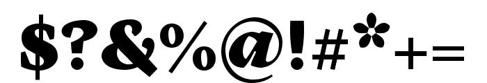 Cardea OTCE Black Font OTHER CHARS