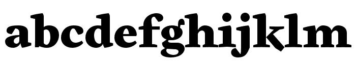 Cardea OTCE Black Font LOWERCASE