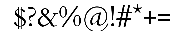 Cardo Regular Font OTHER CHARS