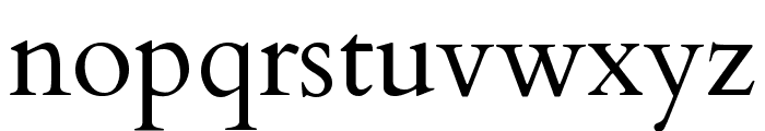 Cardo Regular Font LOWERCASE