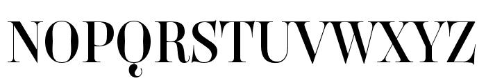 Carina Pro Regular Font UPPERCASE