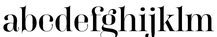 Carina Pro Regular Font LOWERCASE