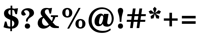 Casus Pro Black Italic Font OTHER CHARS