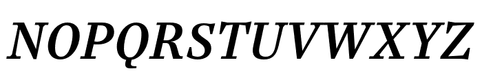 Casus Pro Demibold Italic Font UPPERCASE