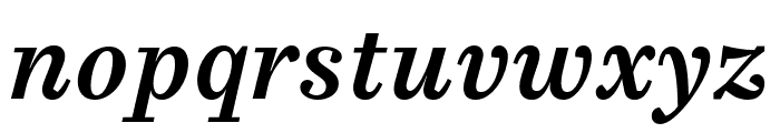 Casus Pro Demibold Italic Font LOWERCASE