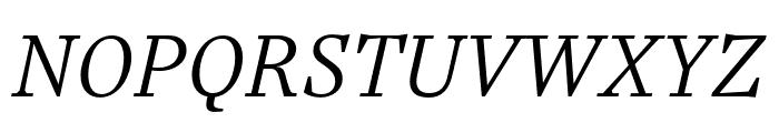 Casus Pro Light Italic Font UPPERCASE