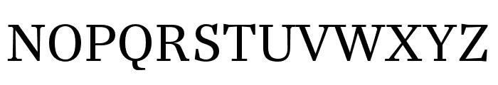 Casus Pro Regular Font UPPERCASE