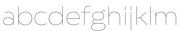 Catalpa Hairline Font LOWERCASE
