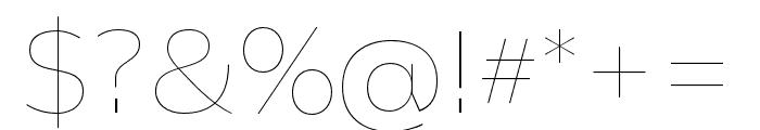 Catalpa Light Font OTHER CHARS