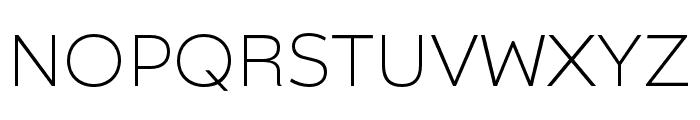 Catalpa Thin Font UPPERCASE