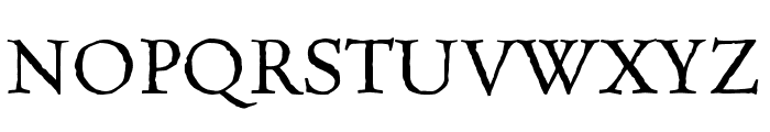Celestia Antiqua MVB Inline Font UPPERCASE