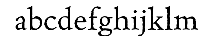 Celestia Antiqua MVB Italic Font LOWERCASE