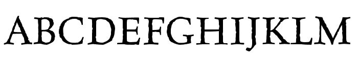 Celestia Antiqua MVB Roman Font UPPERCASE