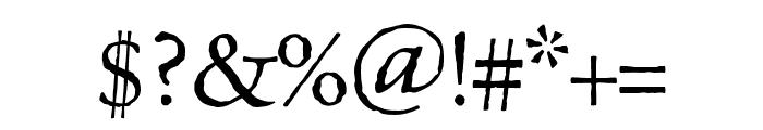 Celestia Antiqua MVB Semibold Font OTHER CHARS