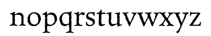 Celestia Antiqua MVB Semibold Font LOWERCASE