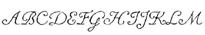 Chanson D'Amour Regular Font UPPERCASE