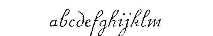 Chanson D'Amour Regular Font LOWERCASE
