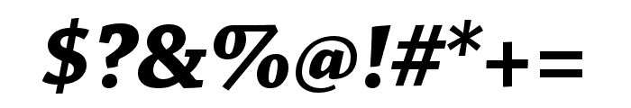 Chaparral Pro Bold Italic Display Font OTHER CHARS