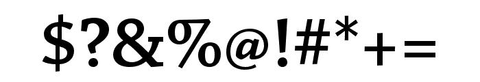 Chaparral Pro Semibold Caption Font OTHER CHARS