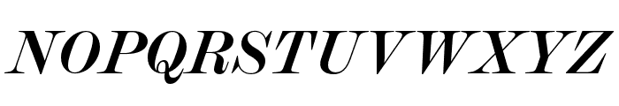 Chapman Bold Italic Font UPPERCASE