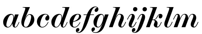 Chapman Bold Italic Font LOWERCASE