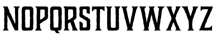 Charcuterie Catchwords Regular Font UPPERCASE