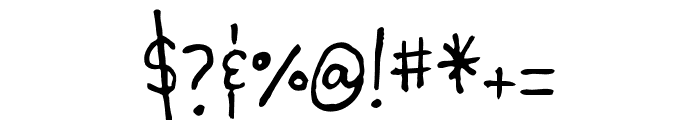 Chauncy Pro Regular Font OTHER CHARS
