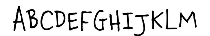 Chauncy Pro Regular Font UPPERCASE