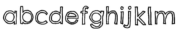 Chelsea Market Open Regular Font LOWERCASE