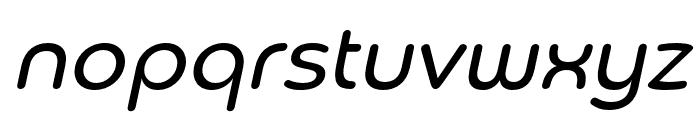 Chennai Regular Oblique Font LOWERCASE