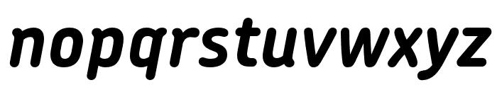 Chevin Pro Bold Italic Font LOWERCASE