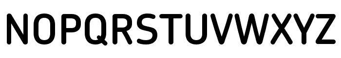 Chevin Pro DemiBold Font UPPERCASE