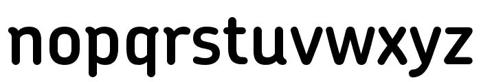 Chevin Pro DemiBold Font LOWERCASE