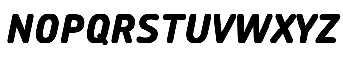 Chevin Pro ExtraBold Italic Font UPPERCASE
