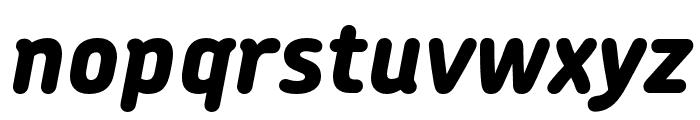 Chevin Pro ExtraBold Italic Font LOWERCASE