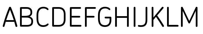 Chevin Pro Light Font UPPERCASE