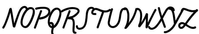 Chippewa Falls Regular Font UPPERCASE