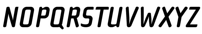 Cholla Slab OT Bold Oblique Font UPPERCASE