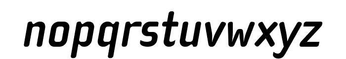 Cholla Slab OT Bold Oblique Font LOWERCASE