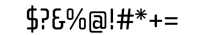 Cholla Slab OT Regular Font OTHER CHARS