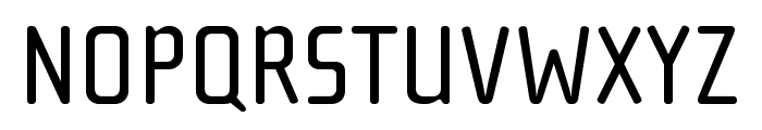 Cholla Slab OT Regular Font UPPERCASE