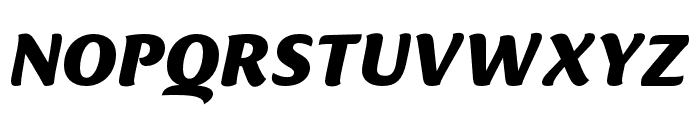 Ciabatta Bold Italic Font UPPERCASE