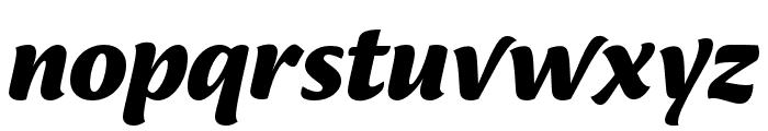 Ciabatta Bold Italic Font LOWERCASE